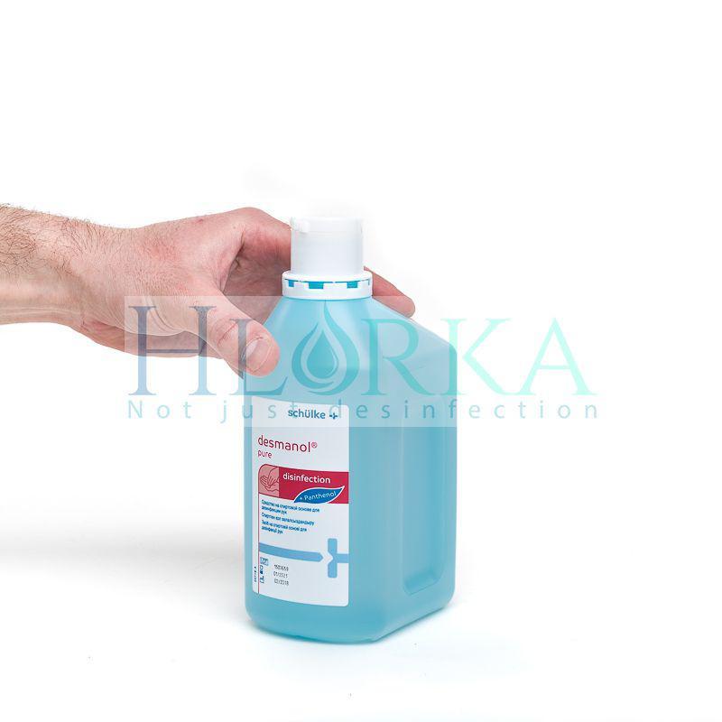 Дезманол пур - антисептик для гигиенической и хирургической обработки рук, 1л (Schulke) Германия