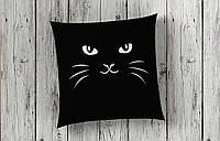 Стильная декоративная подушка Кошка