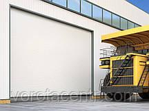 Промислові секційні ворота з алюмінієвих панелей DoorHan ISD03
