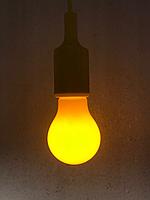 Лампа от комаров желтая 6Вт  E27 радиус 3м, фото 1