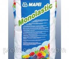 Однокомпонентна гідроізоляційна цементна мембрана Mapei Monolastic 20 кг,Харків, фото 2