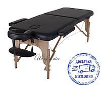 Складной Массажный стол MIA Двухсекционный деревянный Доставка бесплатно!!!