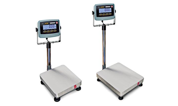 Товарные напольные весы до 150 кг Ohaus Defender 2000 d 23 p 150 el