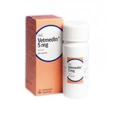 Ветмедин для собак 5мг (50табл.) (лечение сердечно-сосудистых заболеваний)