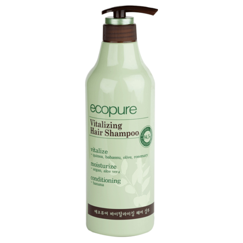 Эко Шампунь для объема волос DANAHAN Somang Eco pure Vitalizing Hair Shampoo, 700ml