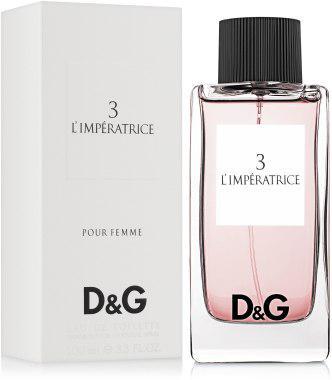 Женская туалетная вода в стиле Dolce & Gabbana L`Imperatrice 3 (100 мл)