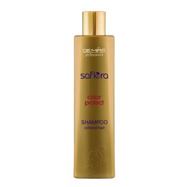 Шампунь для окрашенных и тонированных волос Saflora Repair