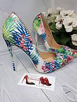 Разноцветные туфли лодочки в наличии,шпилька.., фото 1