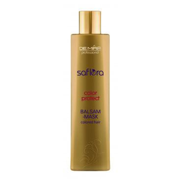 Бальзам-маска для окрашенных и тонированных волос Saflora Color Protect