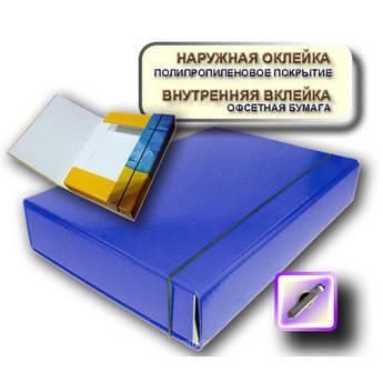 Папка на резинках iTEM А4 306/03 60 мм синяя