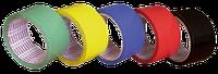 Клейкая лента  9мм х 66яр х 45мк - красный, зеленый, синий, желтый