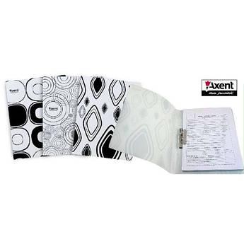 Папка с прижимом Axent А4 1301-50-A Black and White