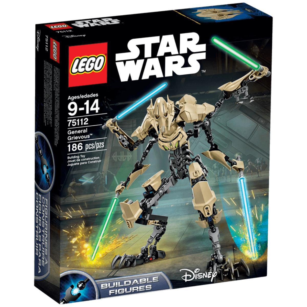 LEGO Star Wars Генерал Грівус 75112 General Grievous Генерал Гривус