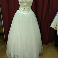 Свадебное платье на корсете айвори (Принцесса)