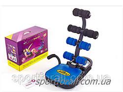 Тренажер для пресса AB ROCKET 4 LS-116 (металл, PU, пластик,р-р 55Hx63Lx30Wсм,вес польз. до 80кг)