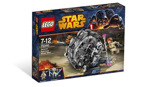 Конструктор LEGO Star Wars Колісна машина Генерала Грівуса (75040) Машина Генерала Гривуса