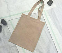 Пляжная сумка/Промо сумка (ложный лен), для сублимации от производителя Украина