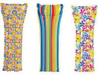 Надувной матрас яркий, стильный. Intex 183х69 см.