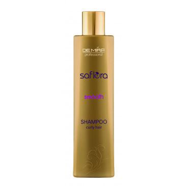 Шампунь для выпрямления волос Saflora Smooth