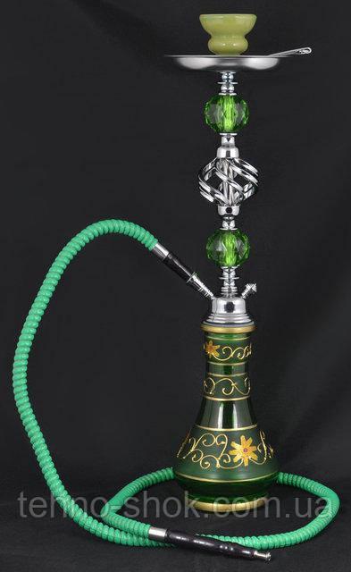 Кальян на одну персону (57 см) №175 (Зеленый)