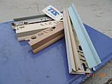Угол Пластиковый Для плитки 12 мм. Внутренний.Цветной., фото 5