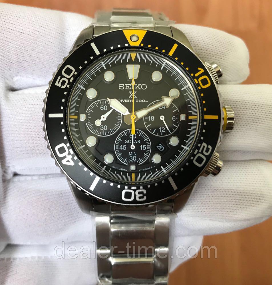 Seiko Solar Alarm Chronograph SSC079P1: продажа, цена в Днепропетровске, в  Украине  часы наручные и