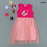 """Летнее платье """"Бабочка"""" для девочки. 6-7 лет, фото 1"""