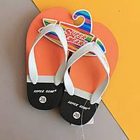 В'єтнамки на хлопчиків пляжне взуття тм Super Gear р. 28,29