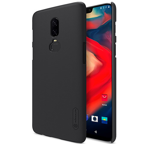 Чехол-бампер Nillkin Super Frosted Shield Black для OnePlus 6