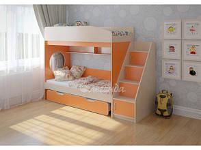 Триярусна выкатная підліткове ліжко, фото 2