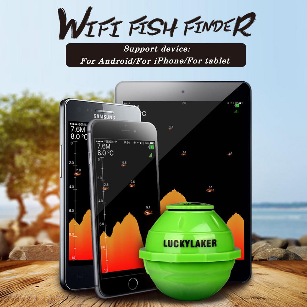 Безпровідний ехолот Lucky FF916 Wi-Fi управління з подовжувачем №539