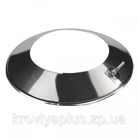 Розета / Окапник из нержавеющей стали, фото 2