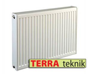 Стальной радиатор 22 тип 500х400 TERRA teknik (боковое подключение)