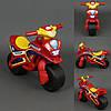 Мотоцикл DOLONI музыкальный Красно-желтый (0139)