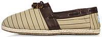 TOMS Slip-on Espadrilles Beige Brown | слипоны / эспадрильи; мужские; летние; бежевые-коричневые | цена 550