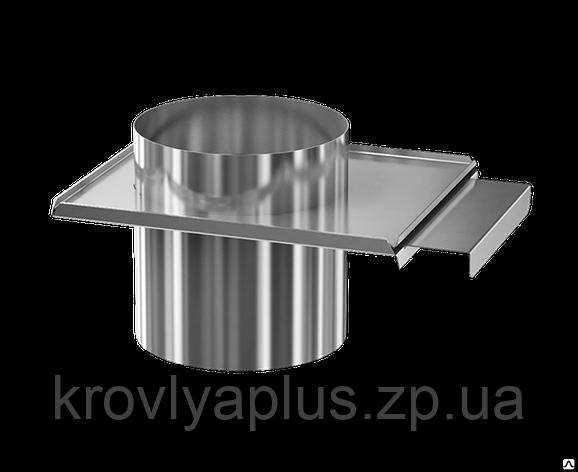 Шибер (Регулятор тяги ) из жаропрочной нержавеющей стали, фото 2