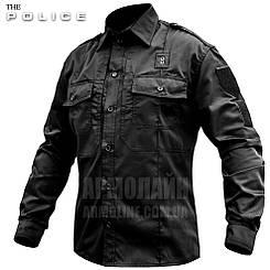 """Рубашка милитари """"POLICE 5.45"""" BLACK Размер M(48-50)"""