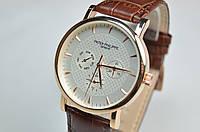 Мужские наручные часы Patek Philippe Geneve класс копии(ААА) все циферблаты рабочие