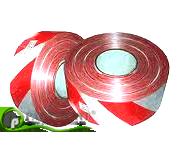 Оградительная лента красно-белая 72мм х 500м