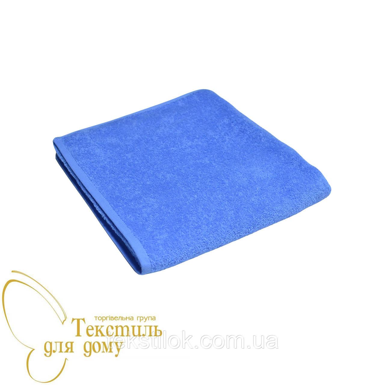 Полотенце банное 70*140, 420 гр/м2,16/1, голубое