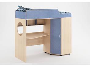 Кровать чердак подростковая со столом, фото 2