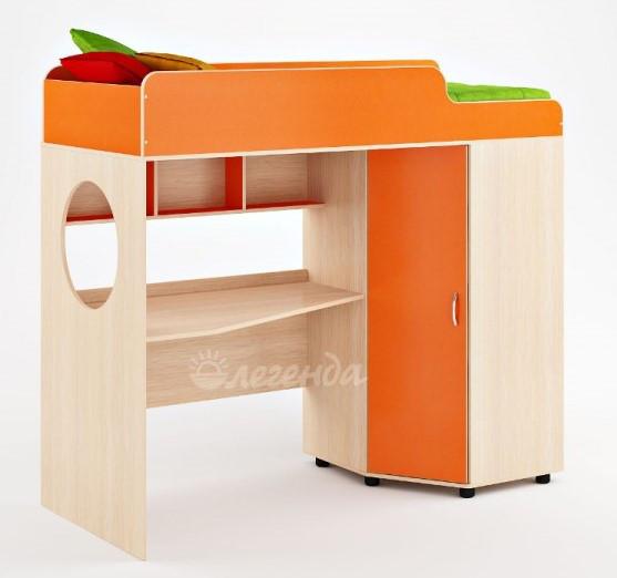Кровать чердак подростковая со столом