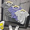 Детская полосатая футболка