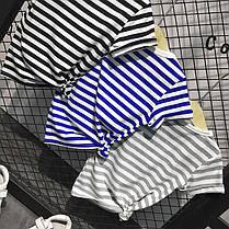 Детская полосатая футболка , фото 2