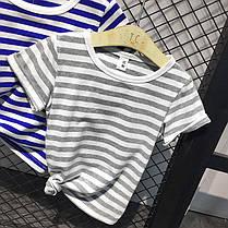 Детская полосатая футболка , фото 3