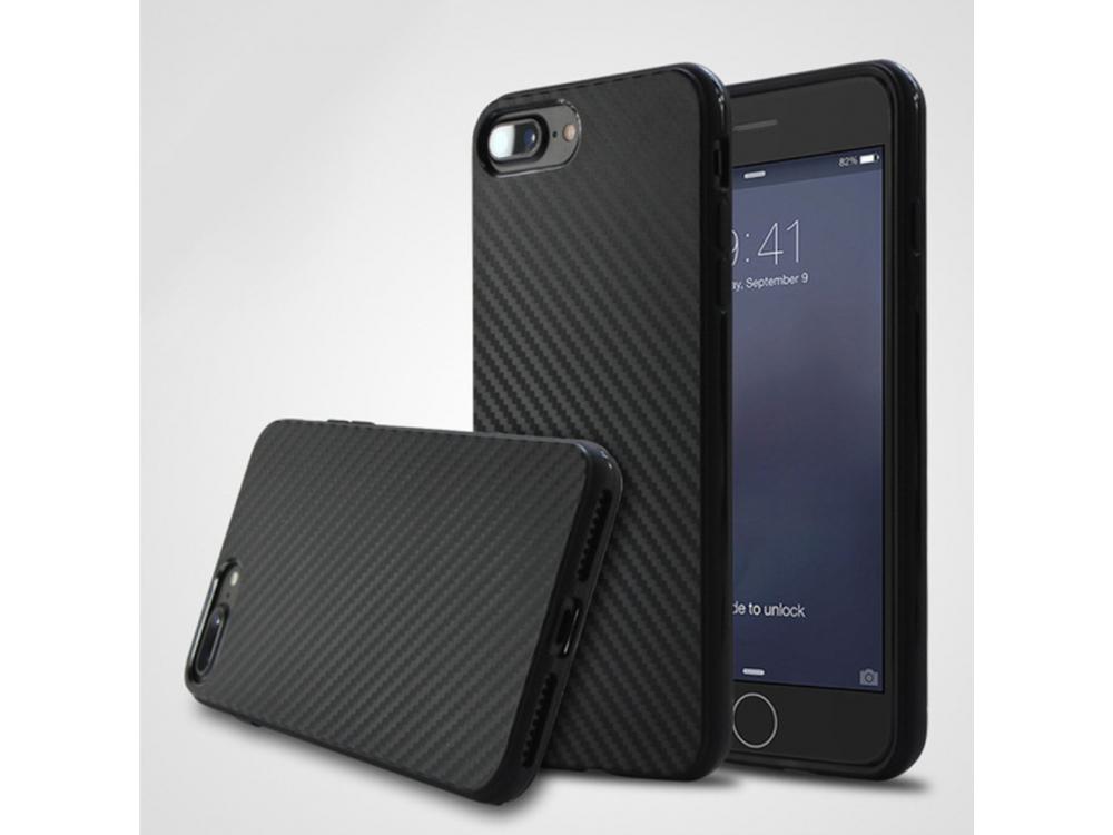 Накладка противоударная силикон Carbon для iPhone 6/6s