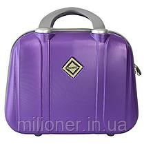 Сумка кейс саквояж 3в1 Bonro Smile фиолетовый (purple 612), фото 2