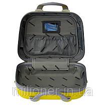 Сумка кейс саквояж 3в1 Bonro Smile желтый (yellow 613), фото 3
