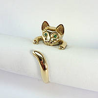 Золотое кольцо Кошка, фото 1