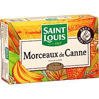 Коричневый (неочищенный) сахар тростниковый рафинад Saint Louis Morceaux de canne, 1 кг., фото 1